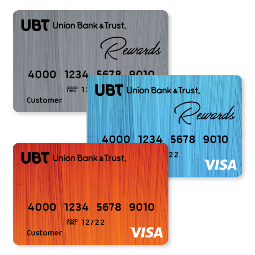 All three credit card options